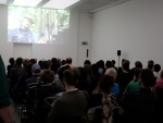 Work-in-progress screening, Institute of Contemporary Arts, London